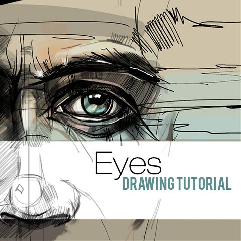 draw eyes step by step