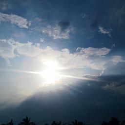 blue_sky sun summer photography