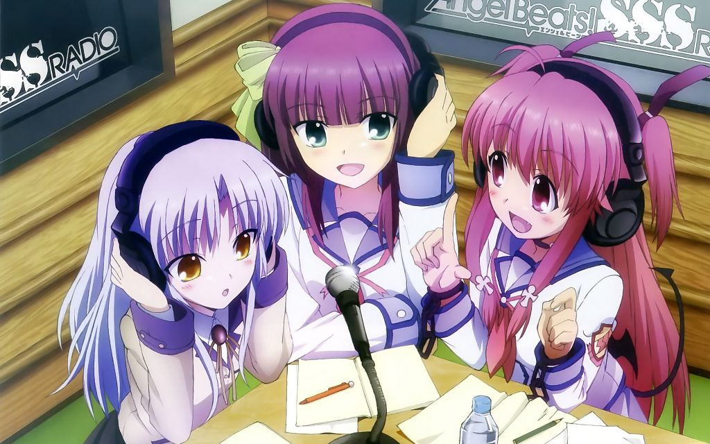 angelbeats anime kanade yurippe yui photo by kawaii sakura oni angelbeats anime kanade yurippe yui