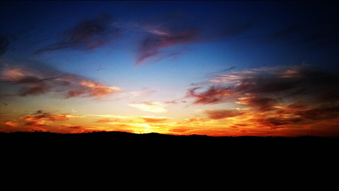 #sun#sunset#evening #landscape