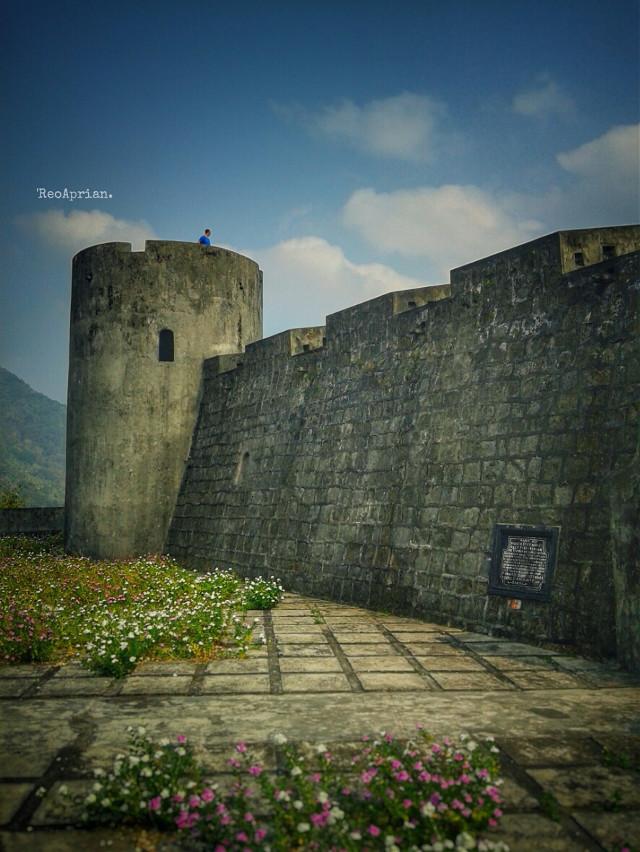 Benteng Belgića...'Banda Neira'  #architecture #castle #photography #journey #explore #indonesia