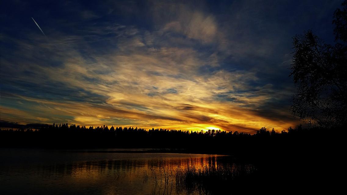 #autumn #nature #sunset
