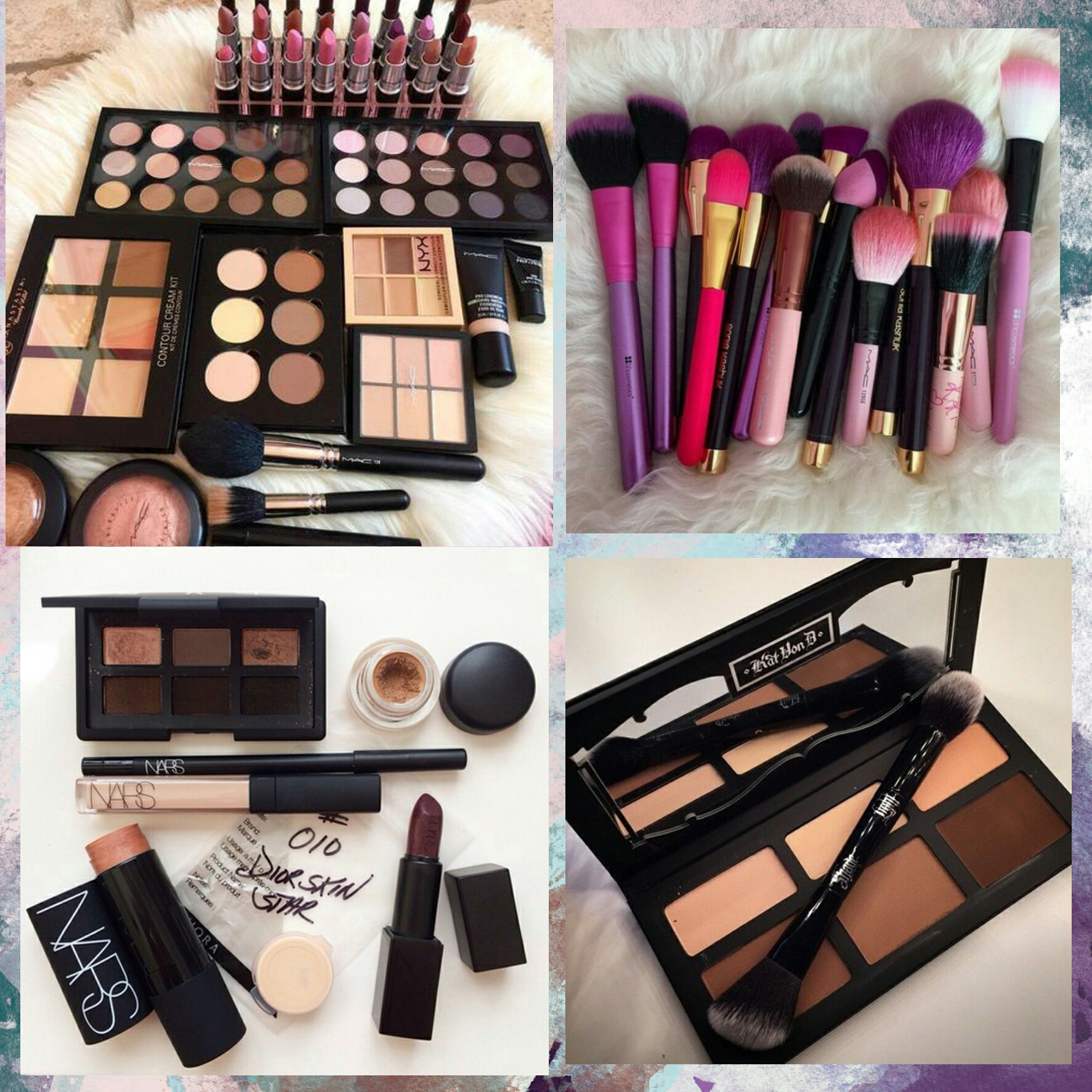 makeup products collage wwwpixsharkcom images