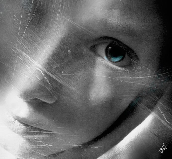 #Emotion #emotions  #blueeyes  #blue  #love #art