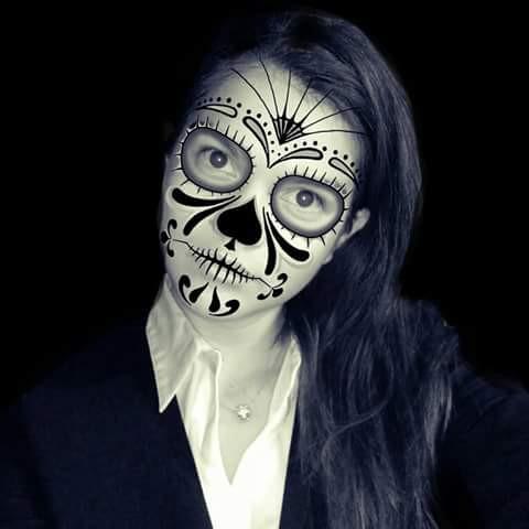 #DiaDeMuertos #LastYear #México #Selfie