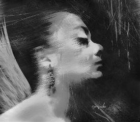 blackandwhite freetoedit photography emotions portrait