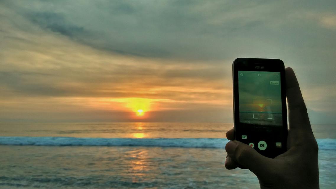 Sunset #beach #nature #photography