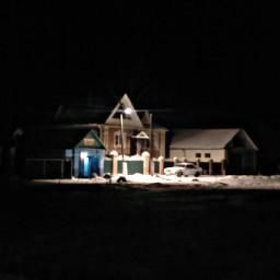 freetoedit photography night winter nature