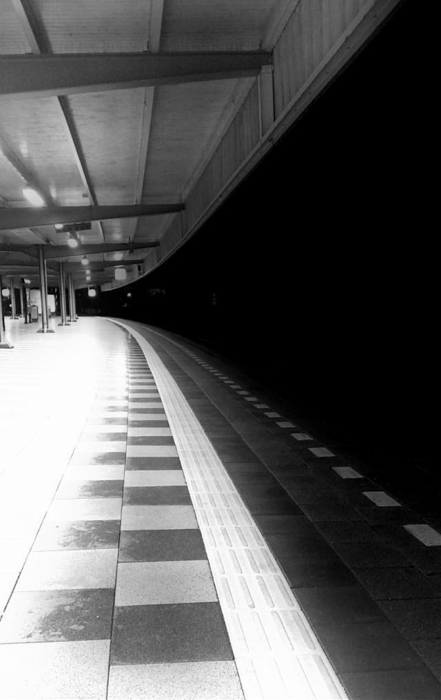#triangles#trainstation Amsterdam #photography #blackandwhite#blureffect