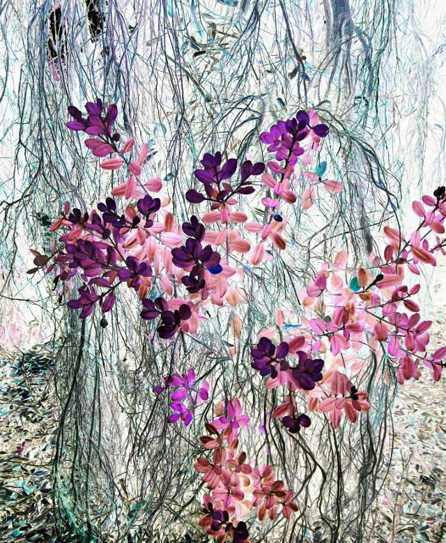 #Nature #plants #effect #negatif #beautiful #art #artits #picsart