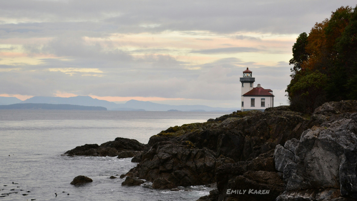 No edit! Lime Kiln Lighthouse, San Juan Island. #nature #photography #beach