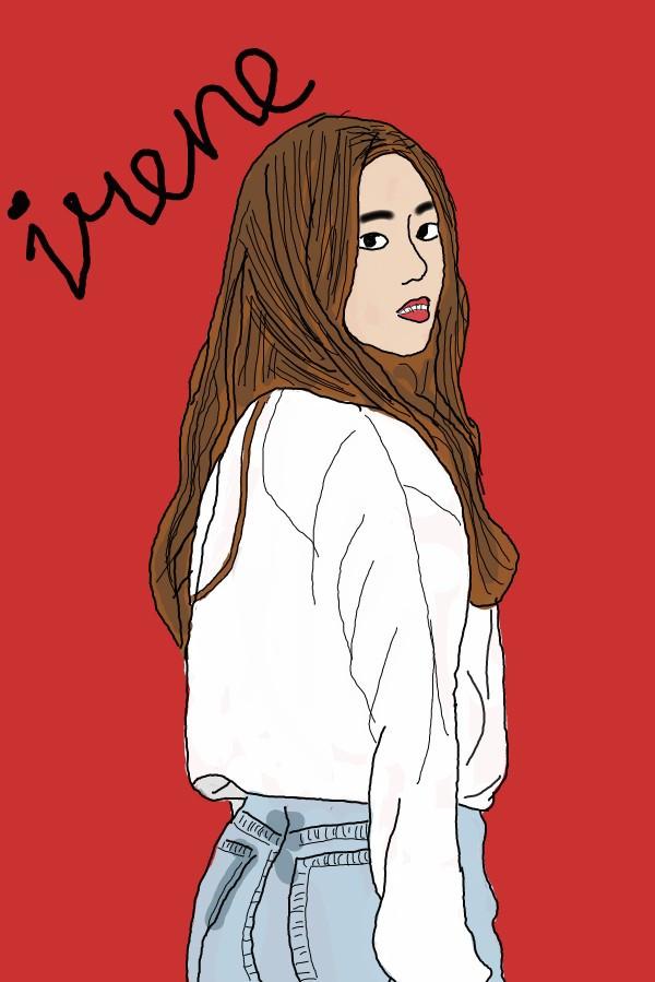 irene bae♡ #irene #redvelvet #vector