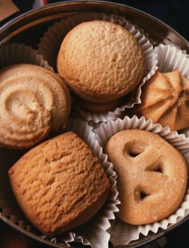 😛 #danish #buttercookies