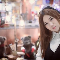 christmas bear photography central girl