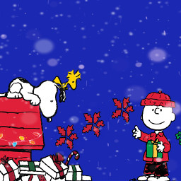 charliebrown snoopy charliebrownchristmas thepeanutgang merrychristmas