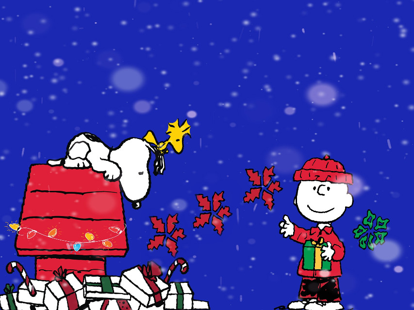 #charliebrown #snoopy #charliebrownchristmas #thepeanutgang #merrychristmas #christmas  #christmastime #illustration #illustrations #editing #clipart