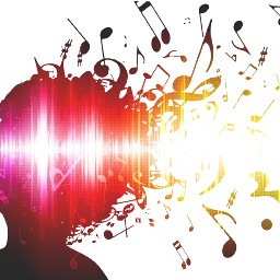 music explotion color