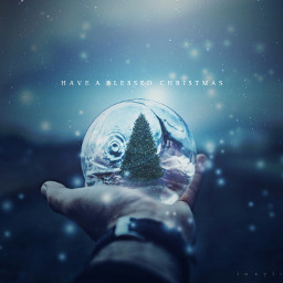 winter surreal manipulated art finearts