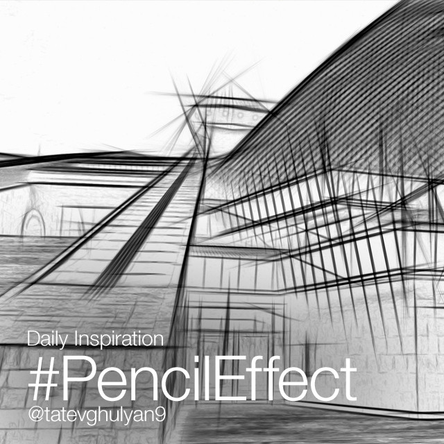 Used with the right images, the Pencil Effect can add a powerful punch to your photos, as it creates a hand-sketched effect, turning your real life photographs into hand-drawn pictures in seconds. We love the way it looks on images with strong lines and angles, especially ones featuring architecture. Use this Effect for today's Monday Inspiration (tutorial here: http://blog.picsart.com/post/monday-inspiration-pencileffect ) and submit your images with the hashtag #PencilEffect! Banner image by @tatevghulyan9 #dailyinspirations
