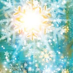 wdpsnowflake winter love colorsplash snow