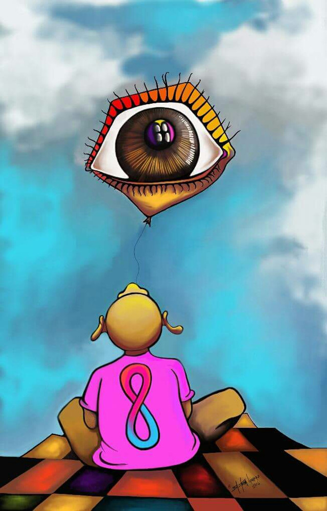 """The Watcher"" By:Iram R Navarro windwalkerarte.com Check us out! tdgraphixs maizedesign.weebly.com instagram/@yzzanava #painting#inspirational#celebrities #acrylics#colors#spiritual#inspired#viral#international#buyers#fans#surrealism"