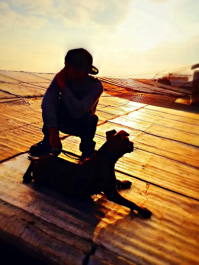 me and jina... #dog #pets #hiphop #swag