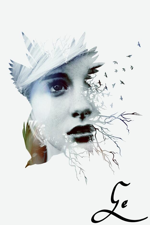 #illustration #surreal #portrait #face #art #imagination #emotion #freetoedit #undefined