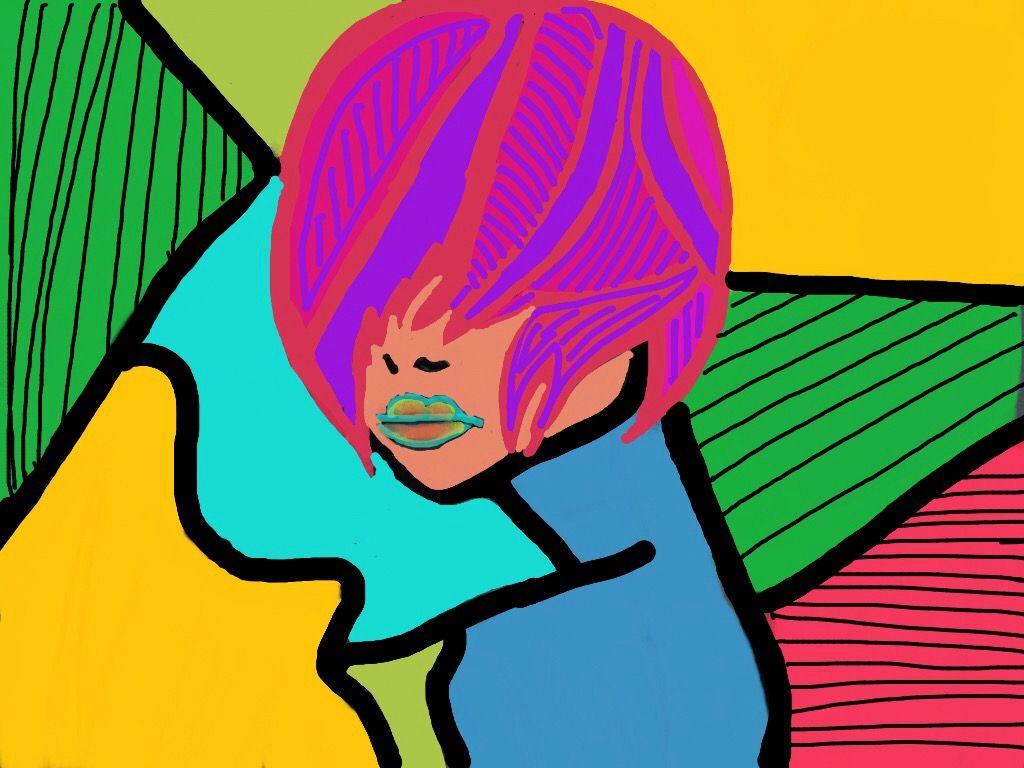 #wdppicasso #popart #pencilart #woman #wppportrait
