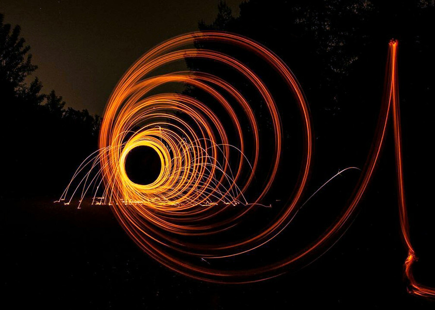 Lighting helix! !!! #colorful #freetoedit #photography #photo #emotions #steelwool