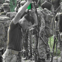 pakarmy colorsplash photography oldphoto water