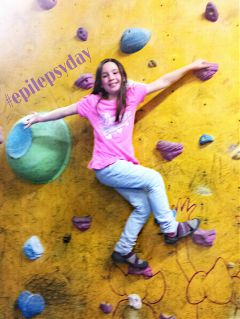 epilepsyday sports climbing achievement strength
