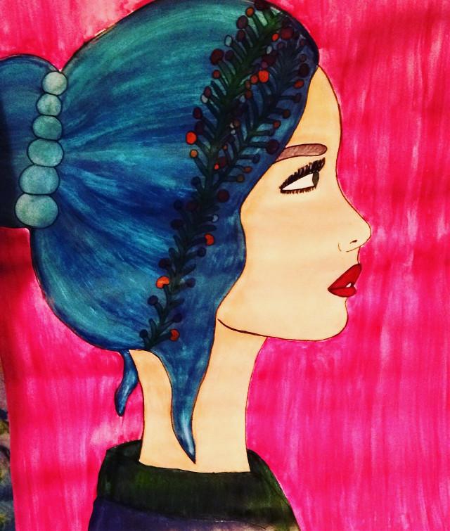 #my #new #art ( #new #woman )
