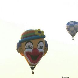 clown crisp colorful photography travel