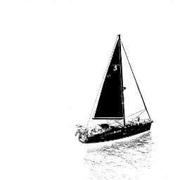 blackandwhite photography oldphoto travel boat