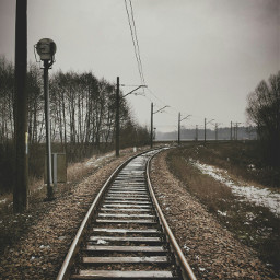 railroad photography heaven travel landscape freetoedit