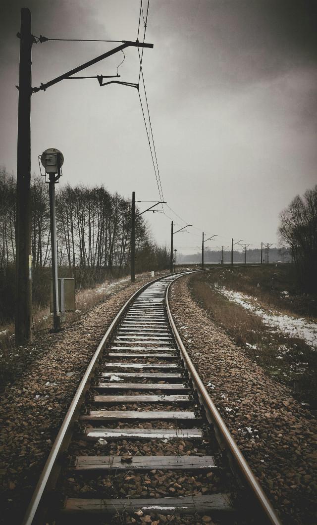 #railroad #photography #heaven #travel #photography #landscape #freetoedit #film