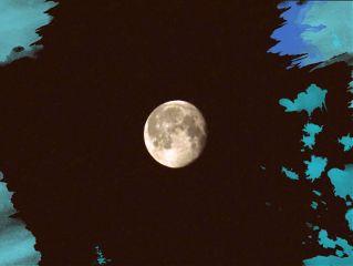 moon mond blackandwhite photography nature