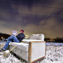 winter coldnight