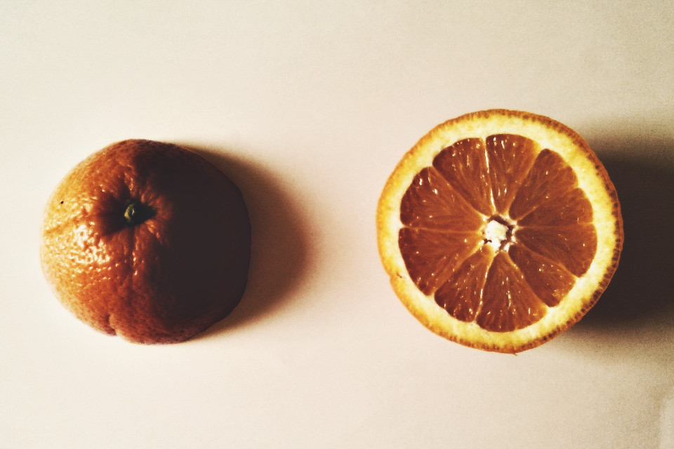 #orange #colorful #food #drama #simple #photography #hdr