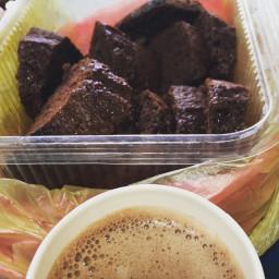cake hotchocolate breakfast ymmy
