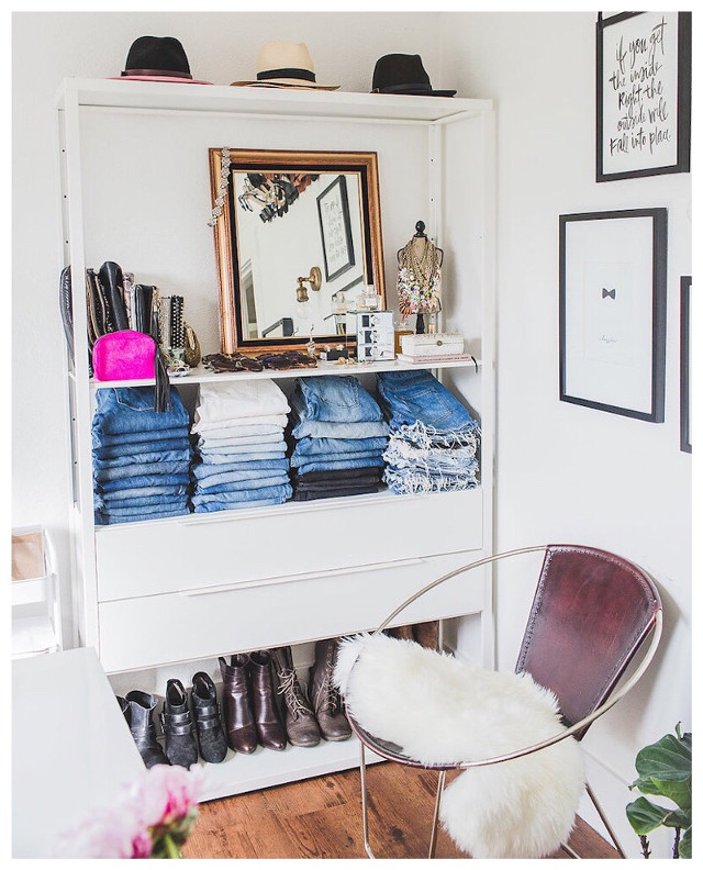 Office/closet. #homedecor #office #closet  Photo by Carlie Statsky.