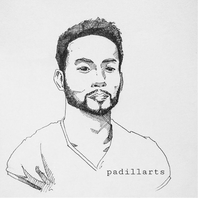 Follow me on instagram account: padillarts  #art #sketch  #pen #drawing #crosshatching #artist #men #man #beard #portraits #portrait #illustration #photography  #blackandwhite #unipin