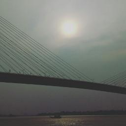 river kolkata dusk