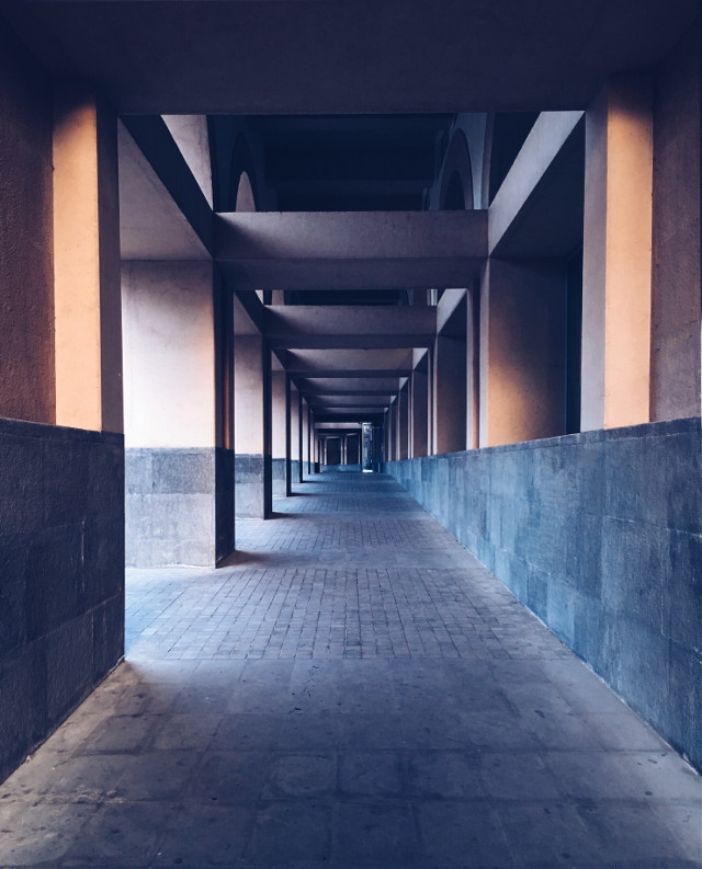 #architecture #lines #light