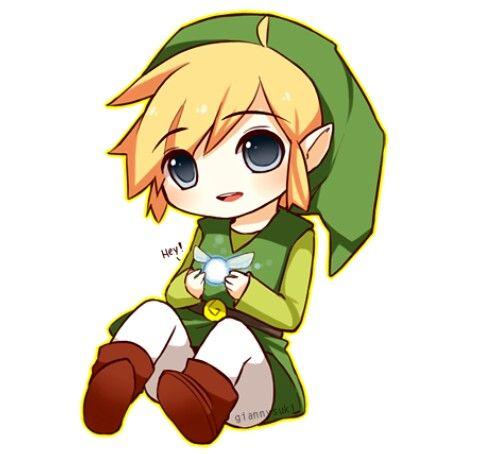 Link Juego The Leyend Of Zelda Kawaii Cute Anim