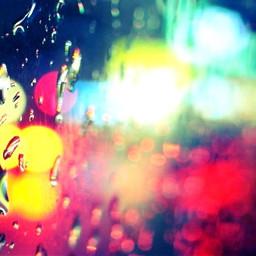 rain light night