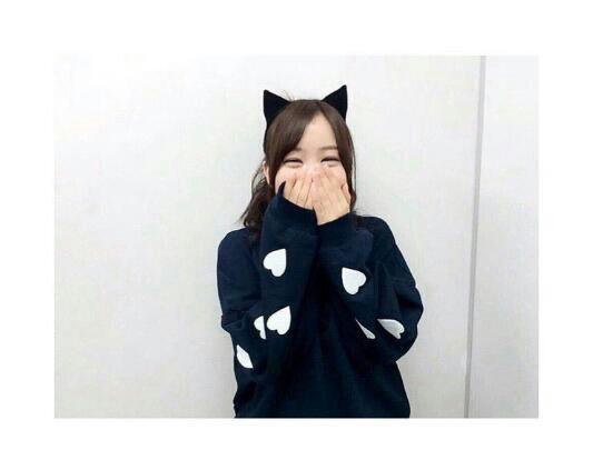 可愛い💗 #星野みなみ #乃木坂46 #猫耳