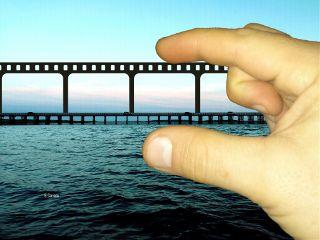 bridge sea cameraroll myhand collage