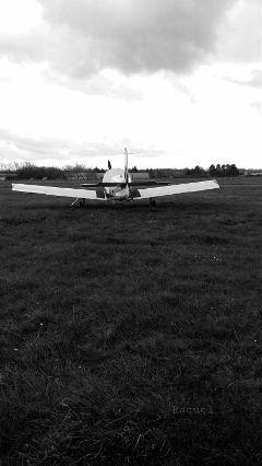 blackandwhite airplane photography