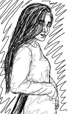 interesting drawing scribble art sketch